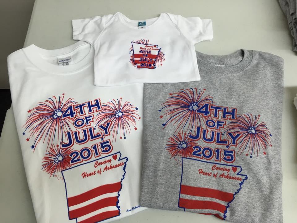 4th Of July Tee Shirts Corning Arkansas