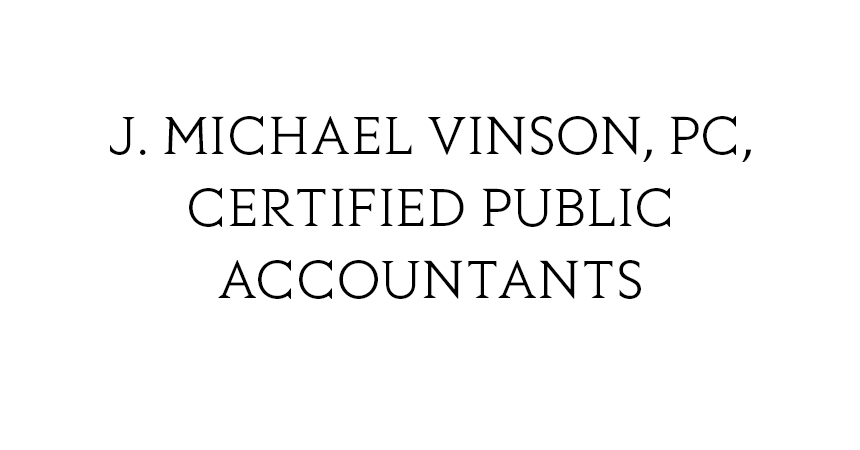 J. Michael Vinson, PC, Certified Public Accountants
